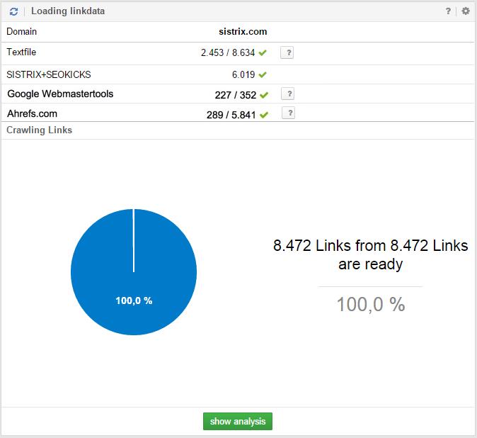 LinkRating Daten importieren